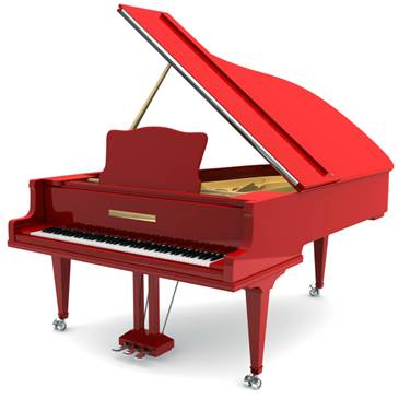 Red Grand Piano | www.pixshark.com - Images Galleries With ...
